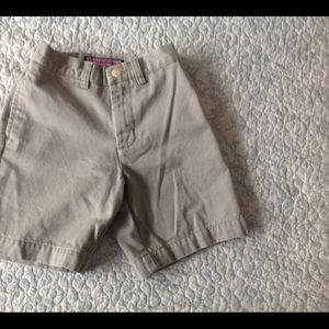 Vineyard Vines Boys Khaki Bermuda Shorts Sz 4T